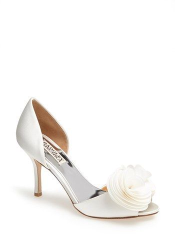 d31b314725e Badgley Mischka  Thora  Pump on shopstyle.co.uk. White Wedding ShoesWedding  ...