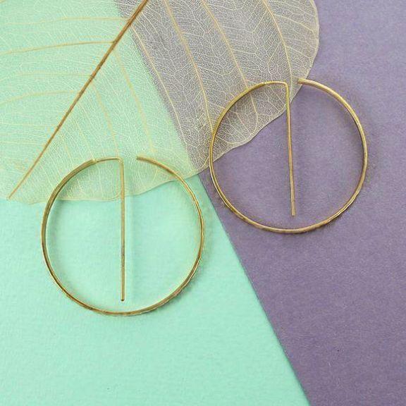 Diamond Hoop Earrings Costume Jewelry Express