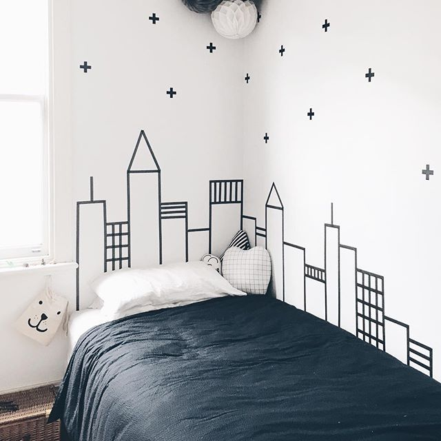 Toddler/little Kids Bedroom Theme: City Skyscraper