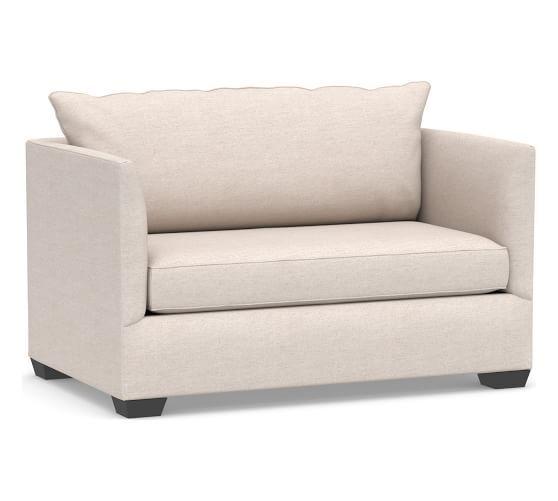 Strange Luna Upholstered Twin Sleeper Sofa With Memory Foam Mattress Dailytribune Chair Design For Home Dailytribuneorg