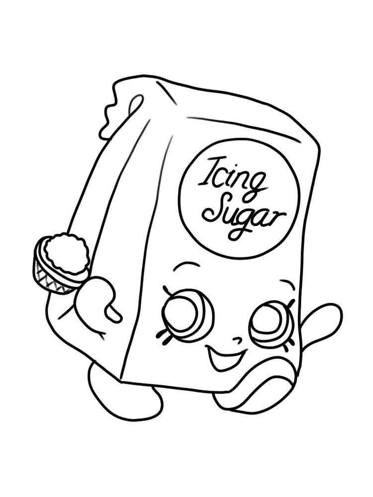 Shopkins Coloring Page Season 6 Iris Icing Sugar Print. Shopkins Are Tiny  Plastic Collectible T… Shopkins Colouring Pages, Coloring Pages, Shopkins  Colouring Book