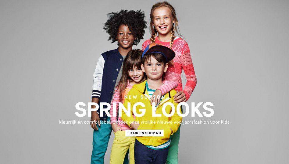 Week 5: Outfit of the week: Lente 2013 voor kids, ook veel kleur! En bij H altijd betaalbaar