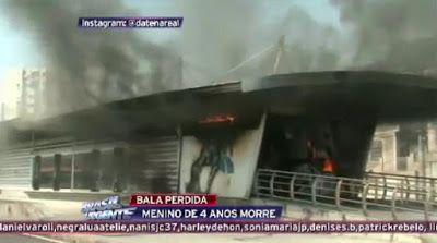 Galdino Saquarema Noticia: Ônibus incendiados em manifestação em Madureira no RJ...