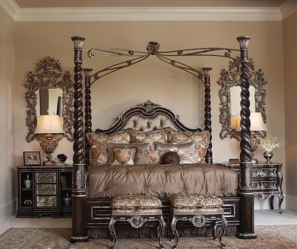 Fancy Bed Frames Canopy Bed Frame Beautiful Bedroom Designs