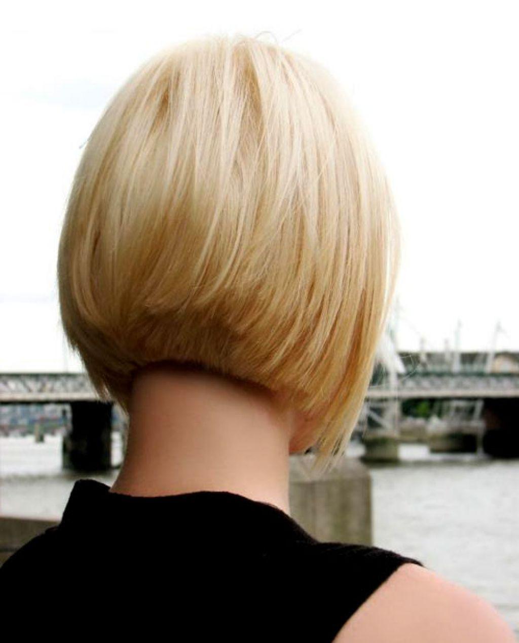 Short Bob Haircut Styles Back View Hair Pinterest Haircut