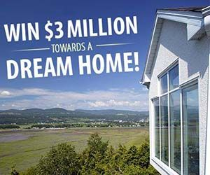 3 million dollar dream home giveaway pch