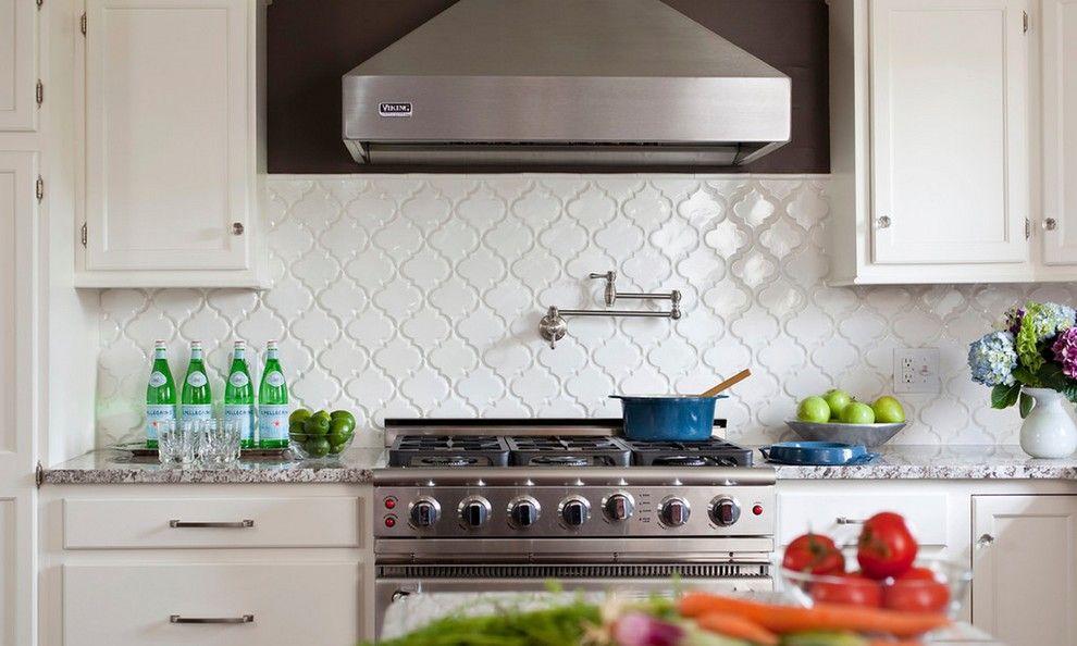 Arabesque Tile Backsplash | Home Style | Pinterest