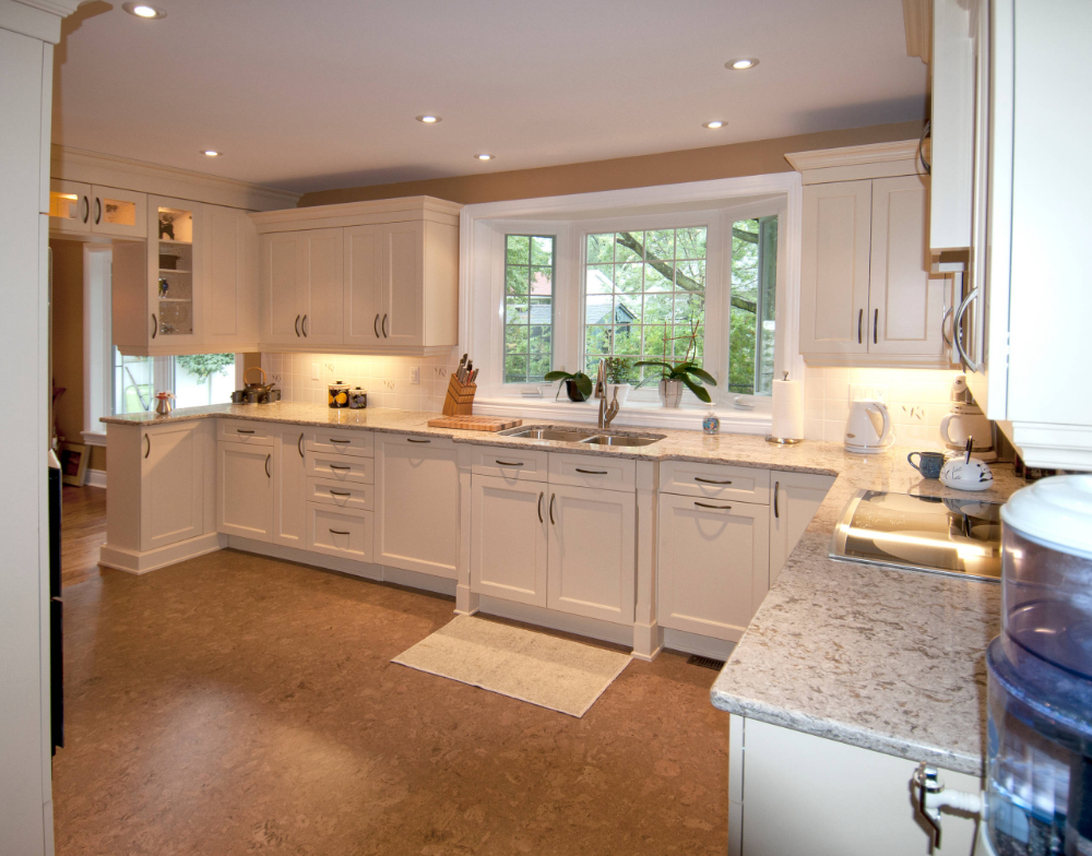 Ingram Traditional Kitchen Ottawa By The Cabinet Connection Floor Tile Design