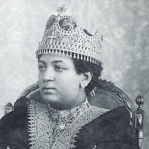 Empress Menen Asfaw | Ethiopian people, African royalty, Black ...