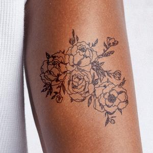 Fragile Botany Tattoo - Semi-Permanent Tattoos by inkbox™
