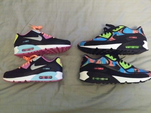 new product 39701 da17b His and Hers Nike Air Max 90