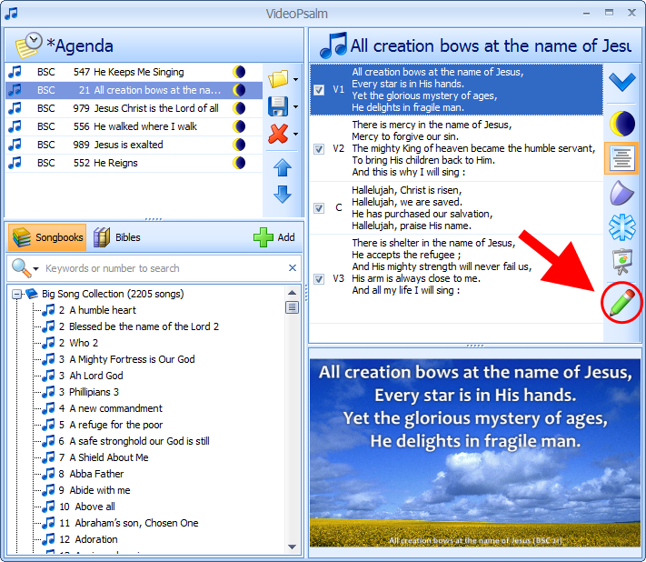 Free Worship Presentation Software for Evangelical Churches