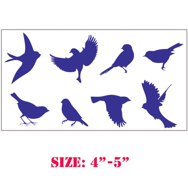 Sparrow Wall Stencils... This Is What Iu0027ve Been Looking For To · Diy Wall  ArtStencil ...