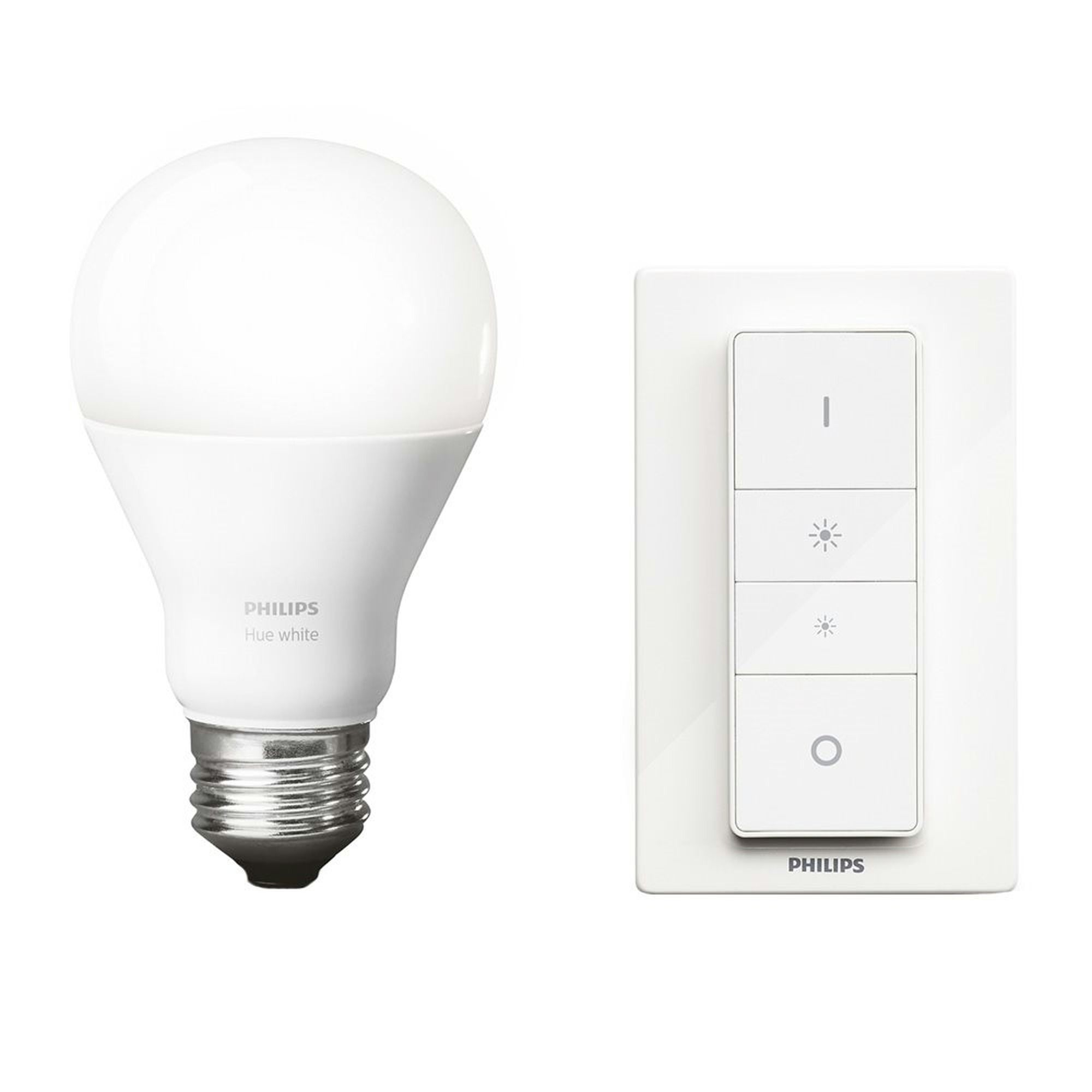 Led Verlichting Coolblue Philips Hue Draadloze Dimmer Met Ledlamp Peer E27 9 5w In