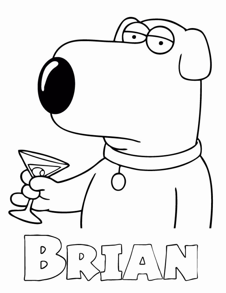 21 Family Guy Coloring Book In 2020 Cartoon Coloring Pages