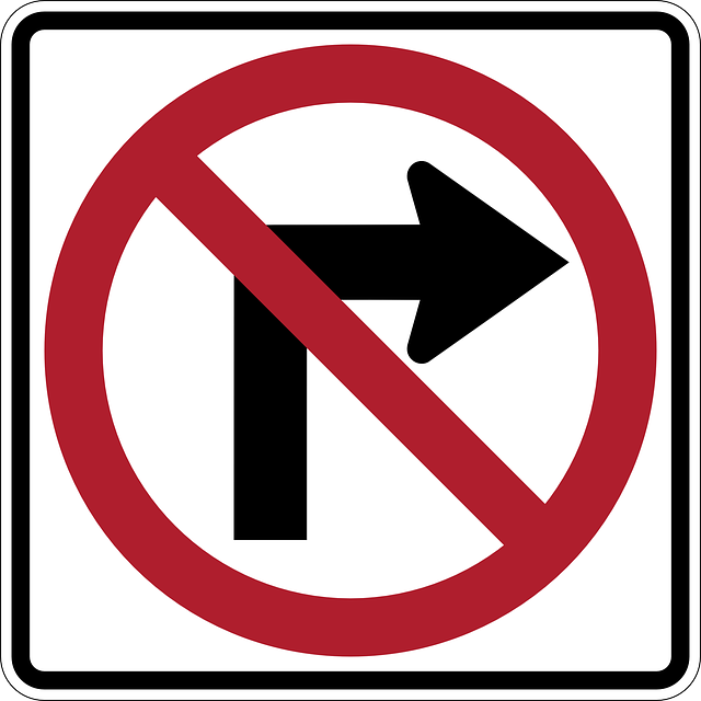 Free Image On Pixabay No Right Turn Arrow Sign Clip Art Street Signs Traffic Signs