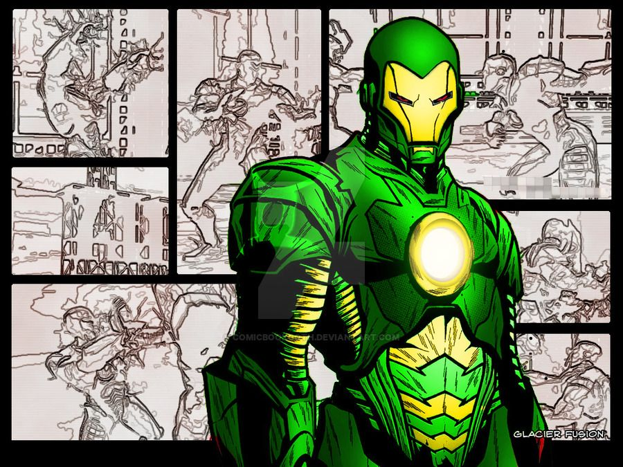 An Image from Marvel Nemesis and gave it an Amalgam Comics Twist ...