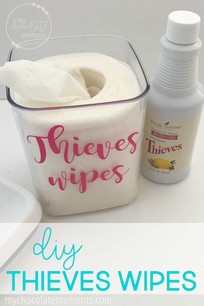 DIY Thieves wipes Natural cleaning products, Essential