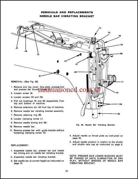 Singer 237 Service And Repair Manual Download  35 Pages Of