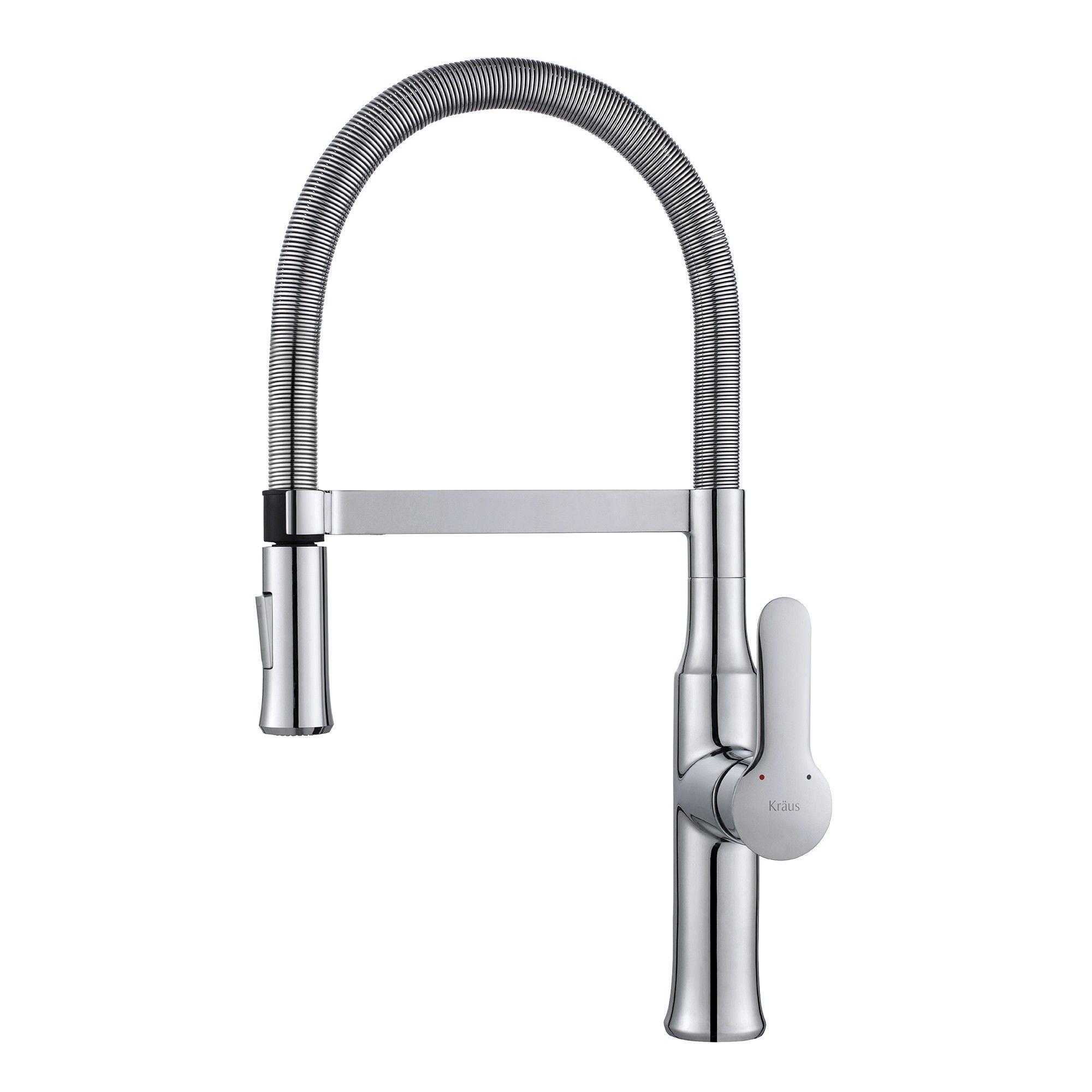 Nola™ Single Lever Flex Commercial Style Kitchen Faucet - New ...
