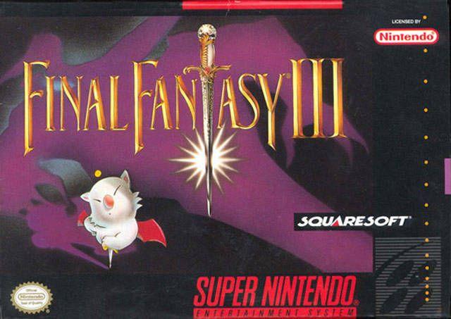Week 6 - Final Fantasy VI - Original Game Art Sun -Final Fantasy VI (SNES version) US box art