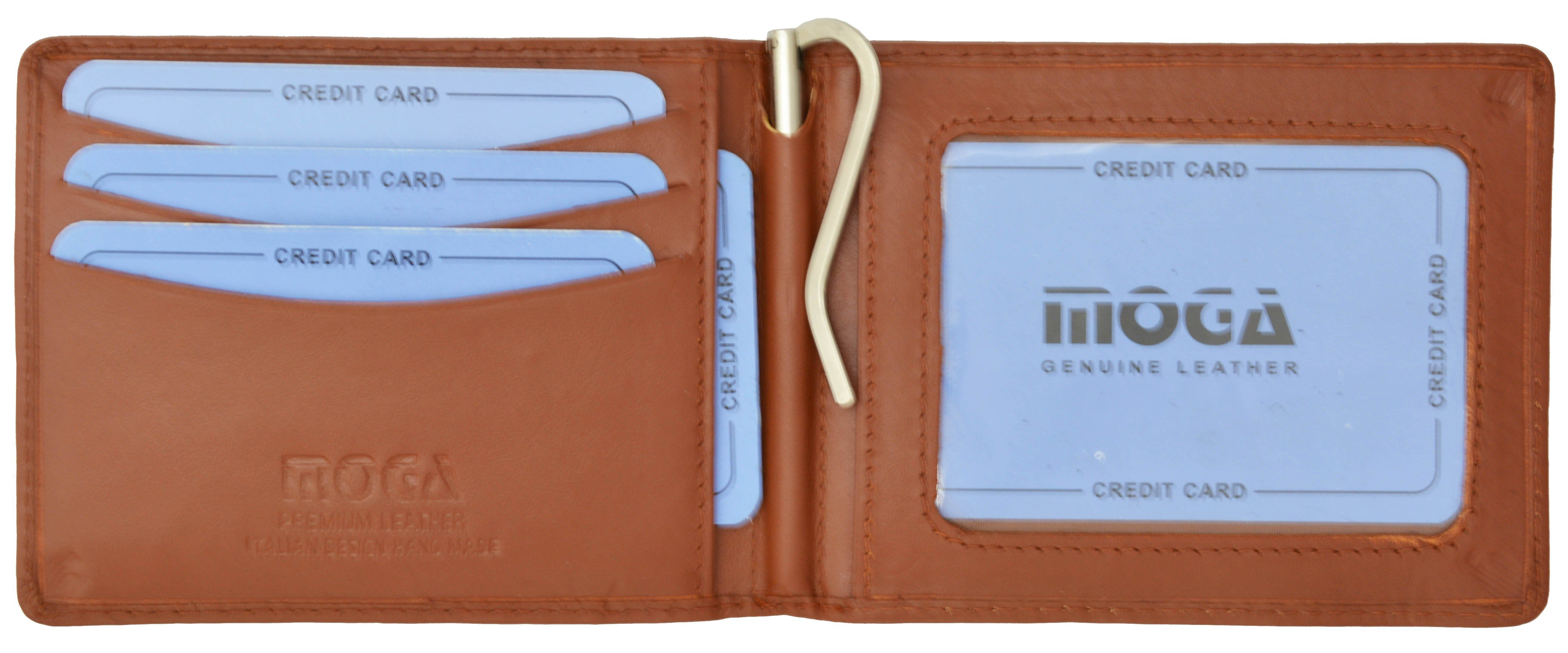 Men/'s Genuine Leather Thin Wallet ID Money Credit Card Slim Holder Money Pocket