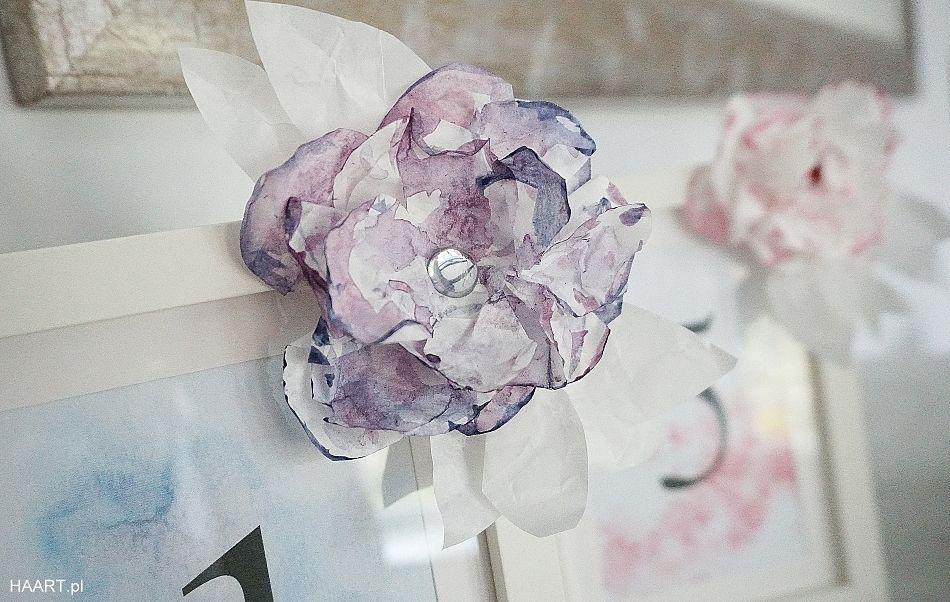 Numerki Na Stol Weselny Do Druku I Papierowe Kwiaty Diy Ice Cream