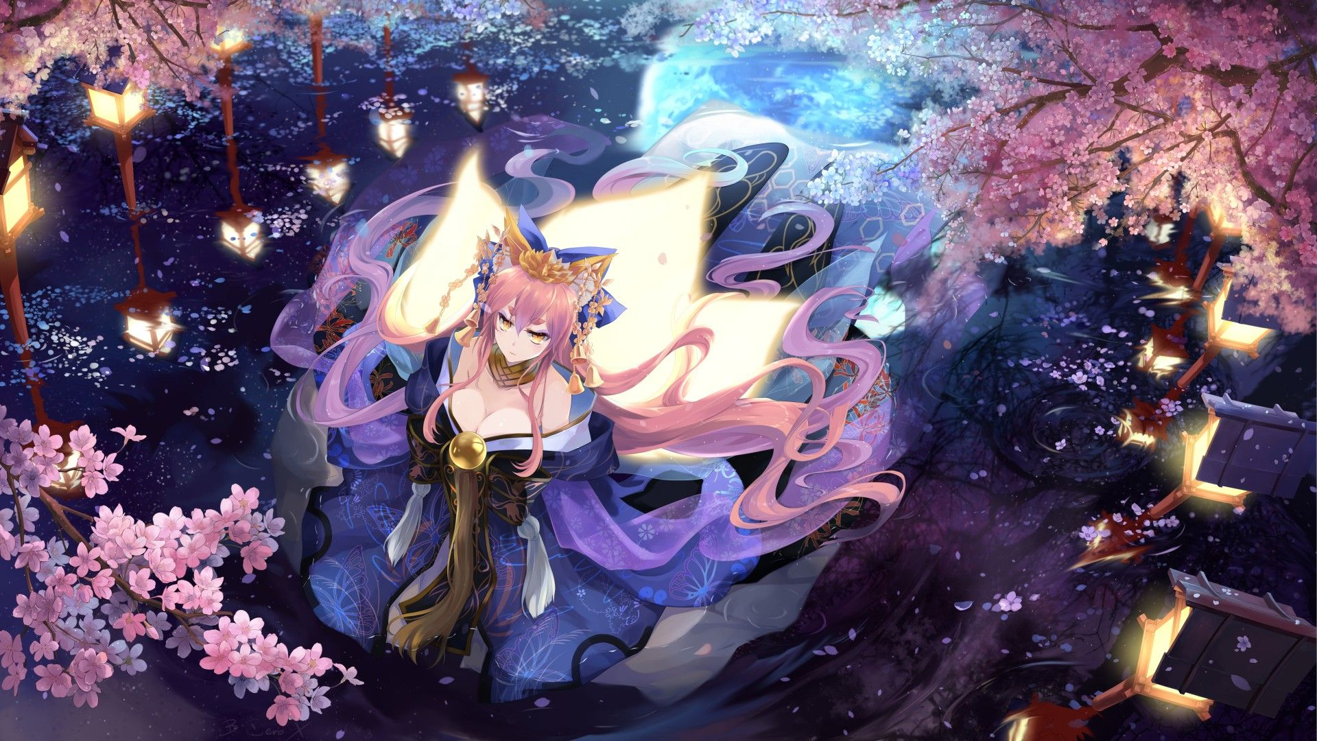 Anime 1920x1080 Caster Fate Extra Fate Series Caster Fate