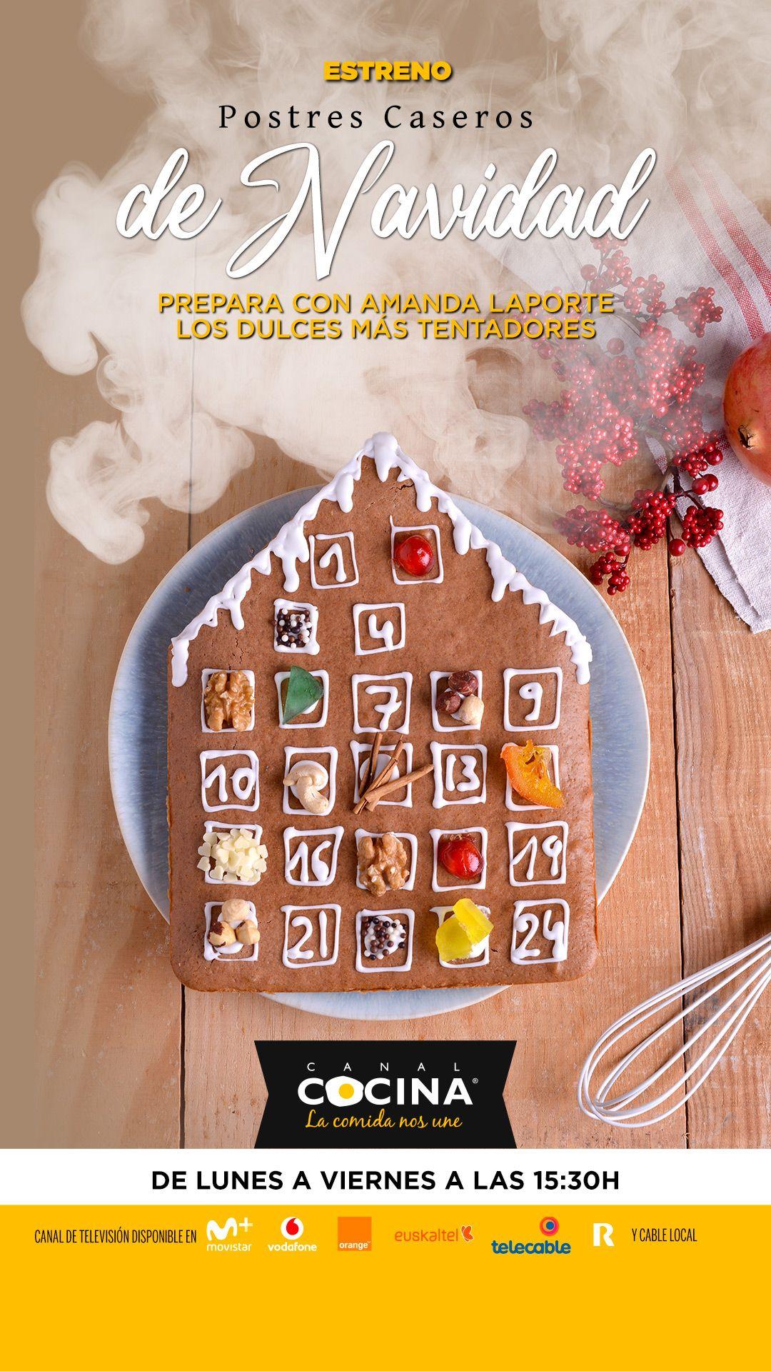 46 Ideas De Canal Cocina Postres Postres Recetas Dulces