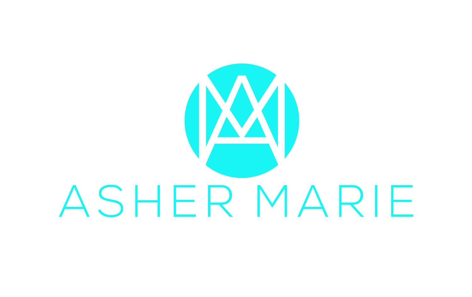 Asher Marie logo was created from a Launch Your Collection recommended resource