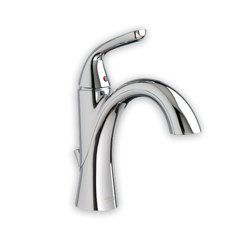 View Fluent Single Control Bathroom Faucet In Polished Chrome (002 ... Single Badezimmer