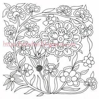 Image Result For Kumaş Boyama çiçek Desenleri Embroidery