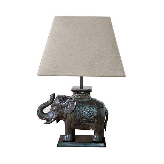 Elephant Desk Lamp Bronze In 2021 Elephant Lamp Lamp Elephant Table Lamp