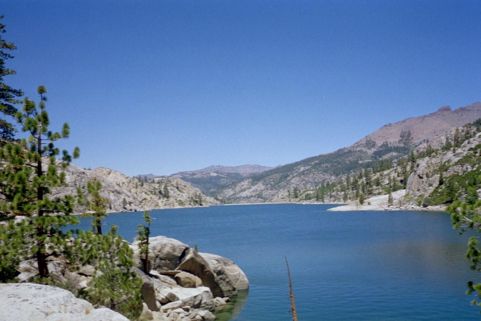 Upper Relief Reservoir, above Kennedy Meadows | Camping ...
