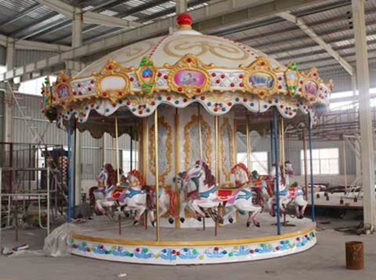 Amusement Park Carousel Rides For Sale With High Quality With