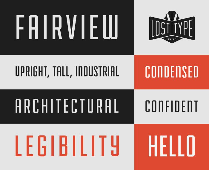 Fairview font, from the Lost Type Co-op  This is a great pay-what