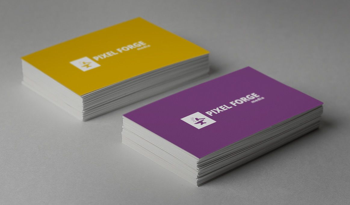 Business Card Mock-up Vol 1 - Pixel Forge Media | Mock-ups: Business ...