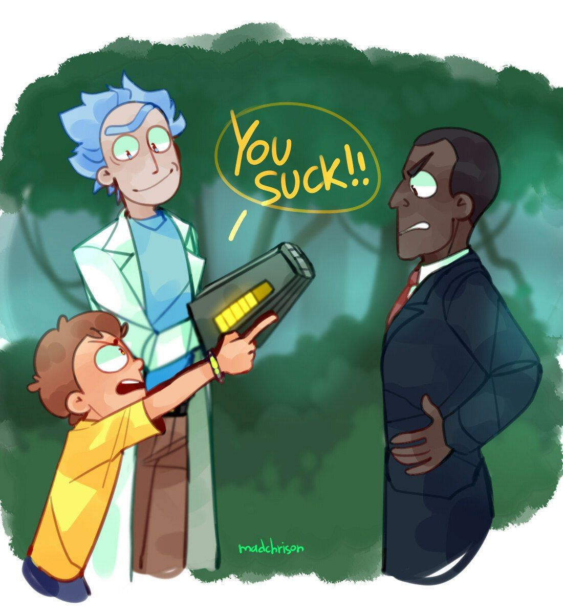 by madchrison Rick and morty Season 3 Episode 10 | Rick and