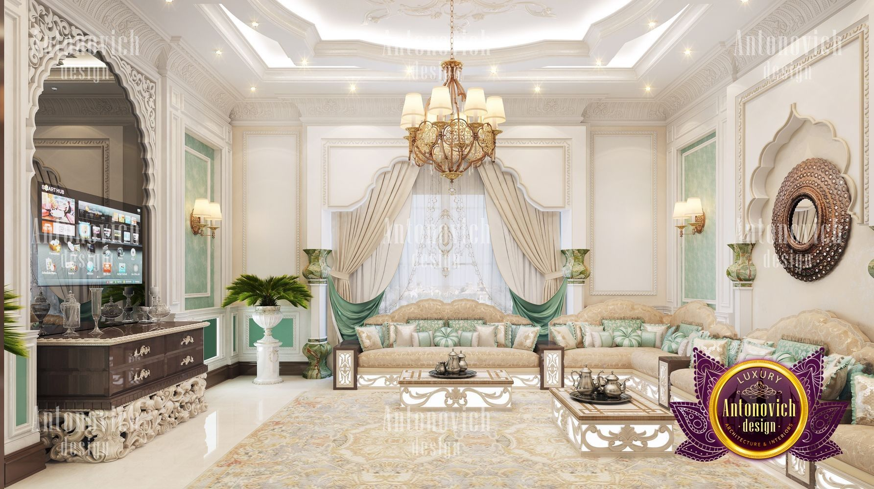 Chic Villa Interior Design If you are looking for a