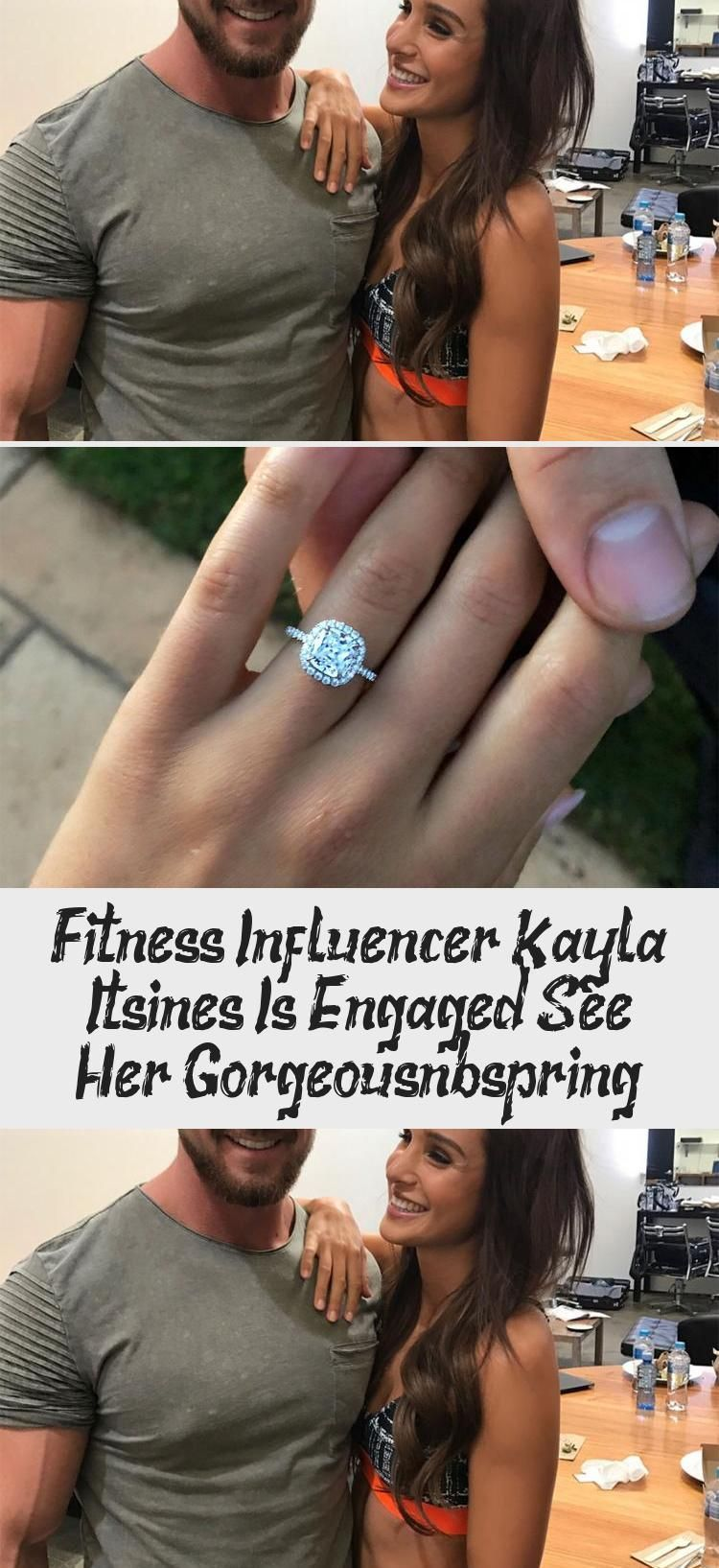 Hottest Images Fitness Influencer Kayla Itsines Is Engaged! See Her Gorgeous Rin...  Hottest Images...