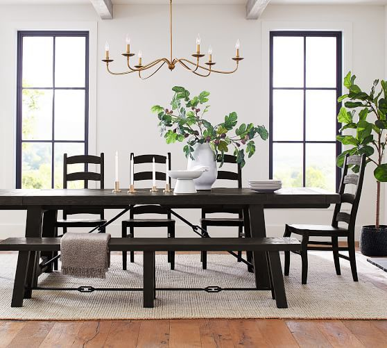 32++ Extendable dining table and bench Trend