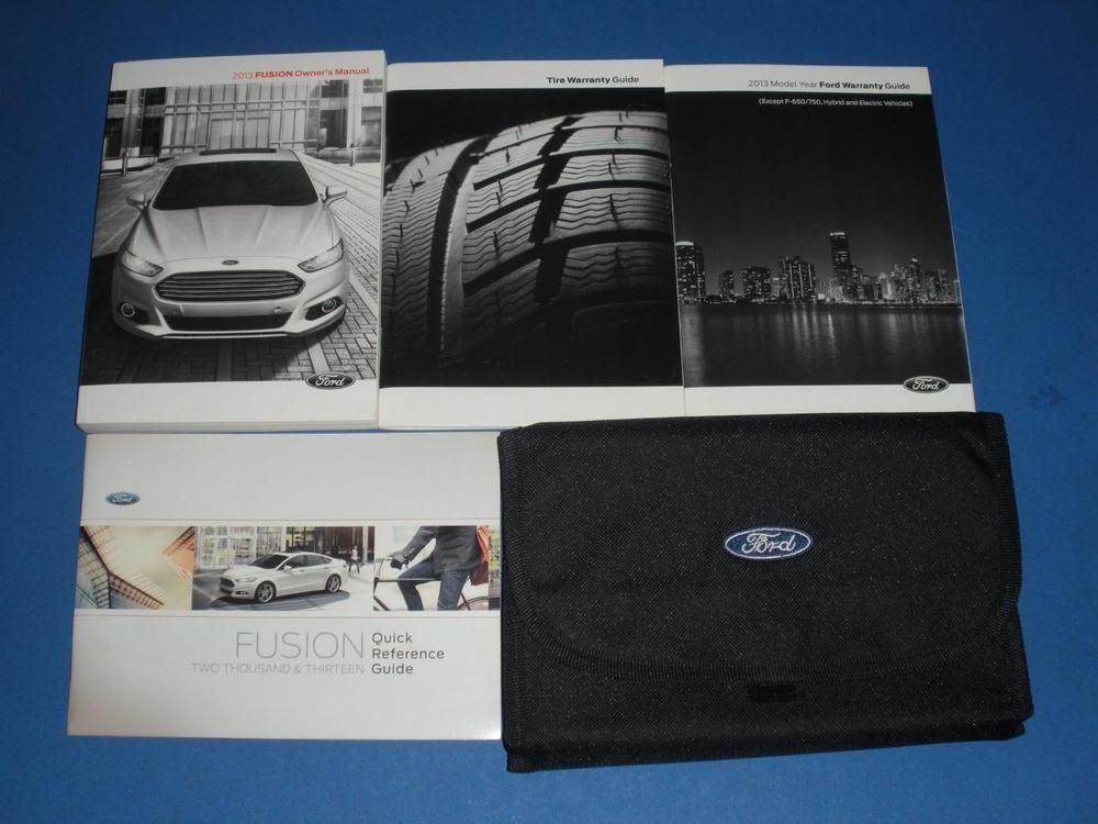 2013 ford fusion owners manual book set owners manuals pinterest rh pinterest com 2015 ford fusion owners manual 2014 ford fusion owner's manual