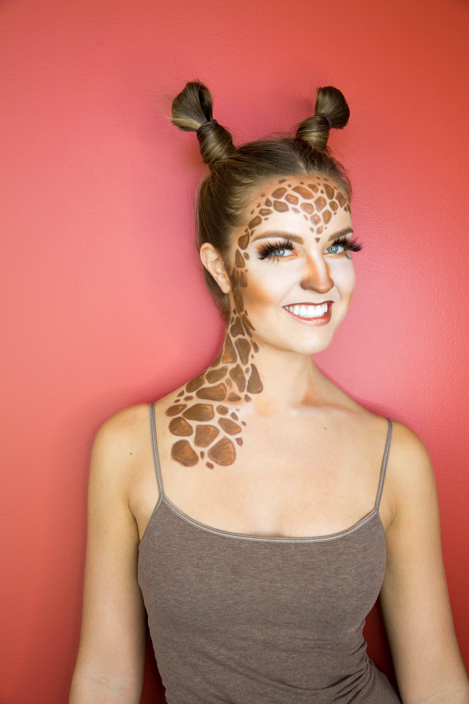 Giraffe Halloween Makeup, Halloween makeup ideas