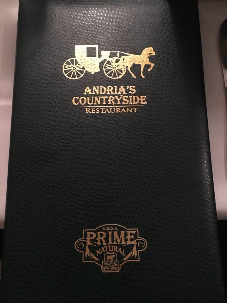 Menu Andria S Countryside Restaurant Edwardsville Il Countryside Restaurant East St Louis Edwardsville