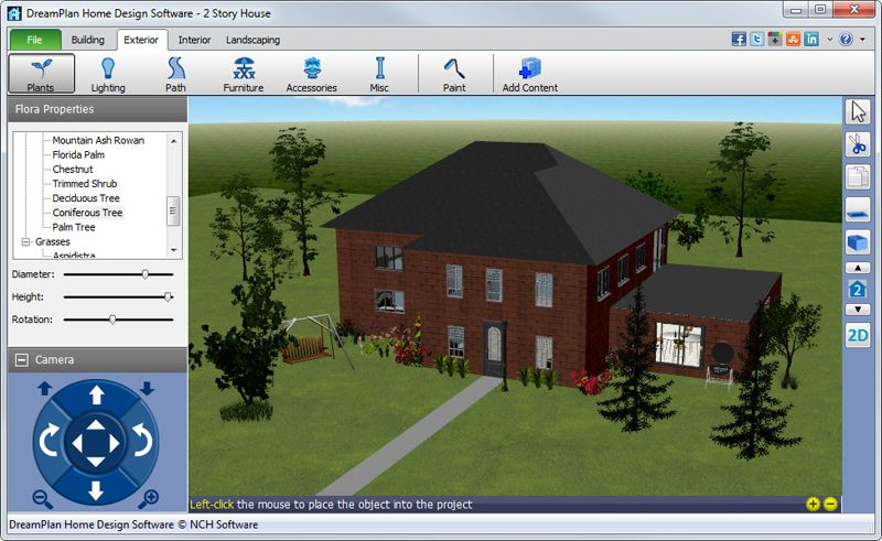 Dreamplan Home Design And Landscaping Software Download Http Www Instrumentssale Home Design Software Home Design Software Free Landscape Design Software