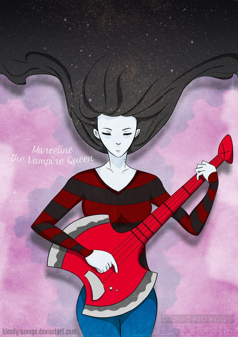 ... Marceline: The Vampire Queen by bloody-savage