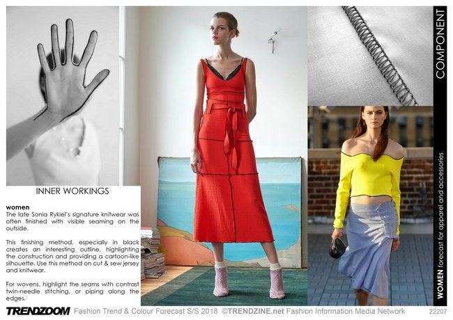 Trendzoom: Fashion Trend & Colour Forecast S/S 18 - Tendenze | ♦F&I♦