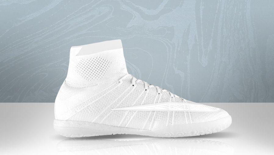 nike football blue all white nike boots