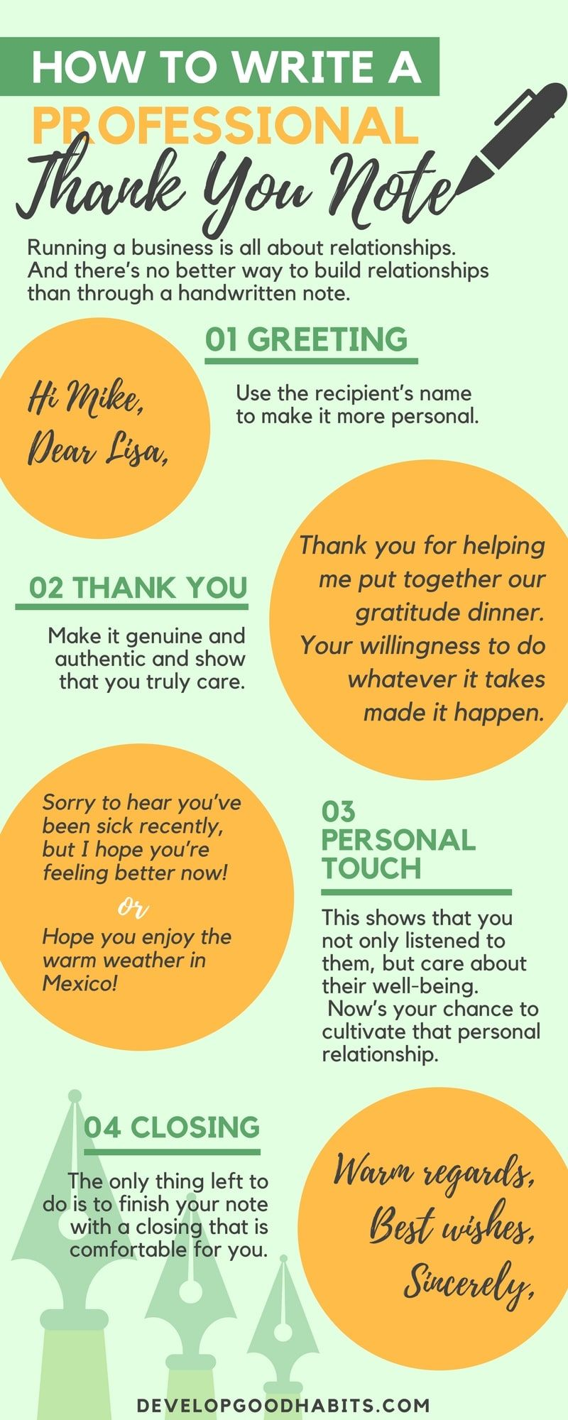 How To Write Professional Thank You Cards That Strengthen Your