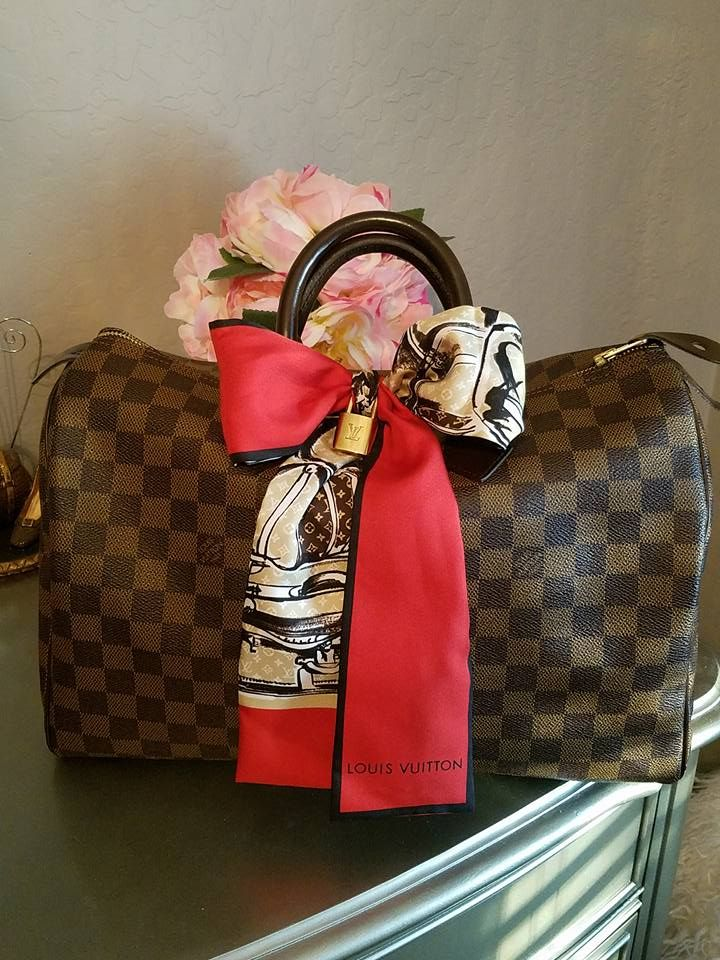 How About A Bow To Make Your Lv Speedy Prettier Join Our Louis